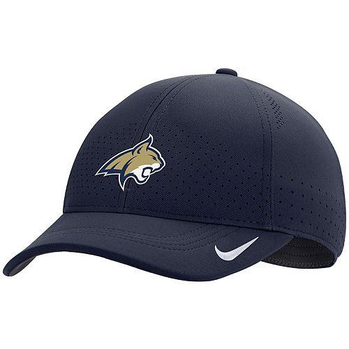 Men's Nike Navy Montana State Bobcats Sideline Coaches Legacy 91 Adjustable Hat