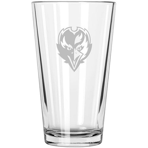 Baltimore Ravens Etched 16oz. Pint Glass