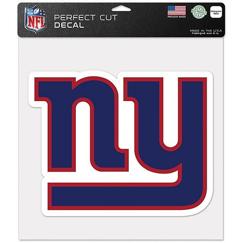 """WinCraft New York Giants 12"""" x 12"""" Perfect Cut Decal"""