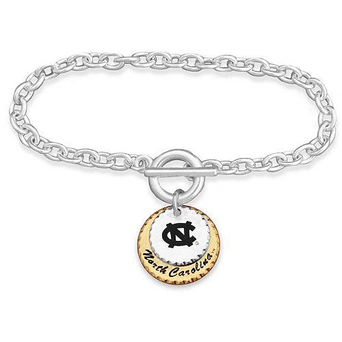 North Carolina Tar Heels Women's Haute Stamp Bracelet