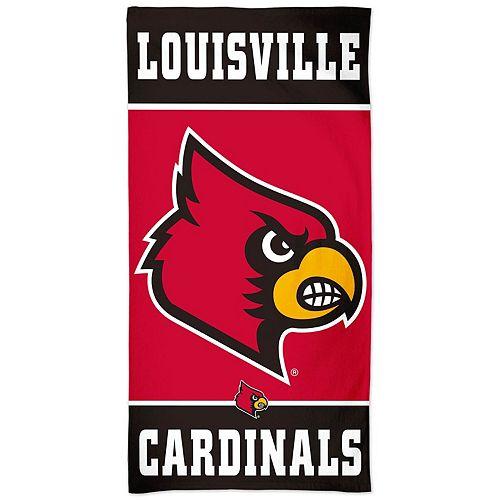 """WinCraft Louisville Cardinals 30"""" x 60"""" Spectra Beach Towel"""