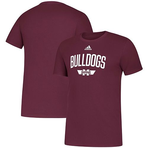 Men's adidas Maroon Mississippi State Bulldogs Sideline Locker Arched Amplifier T-Shirt