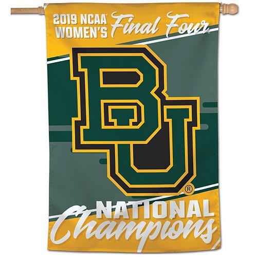 Baylor Bears WinCraft 2019 NCAA Women's Basketball National Champions 28'' x 40'' Vertical Banner