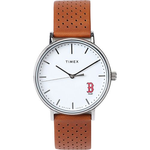 Timex Boston Red Sox Bright Whites Tribute Collection Watch