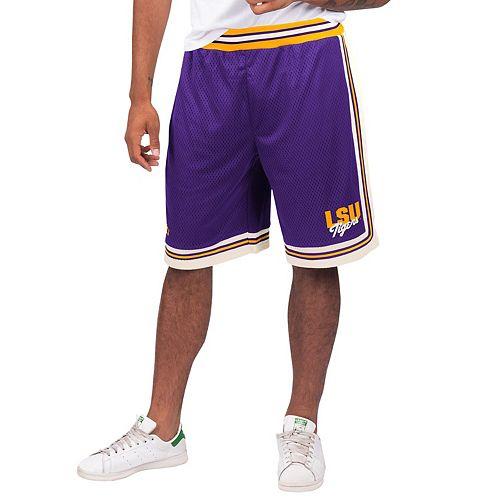 Men's Starter Purple LSU Tigers Highlight Shorts