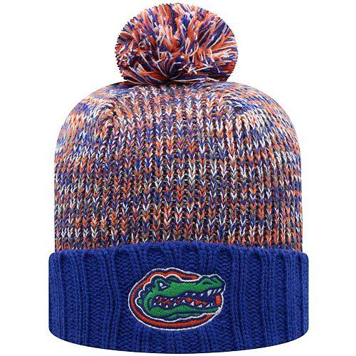 Men's Top of the World Royal Florida Gators Soar Cuffed Pom Knit Hat