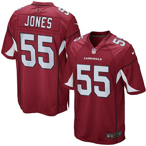 Men's Nike Chandler Jones Cardinal Arizona Cardinals Game Jersey