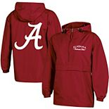 Women's Champion® Crimson Alabama Crimson Tide Packable Half-Zip Light Rain Jacket