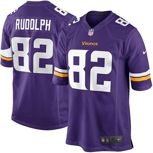 Mens Minnesota Vikings Kyle Rudolph Nike Purple Game Jersey