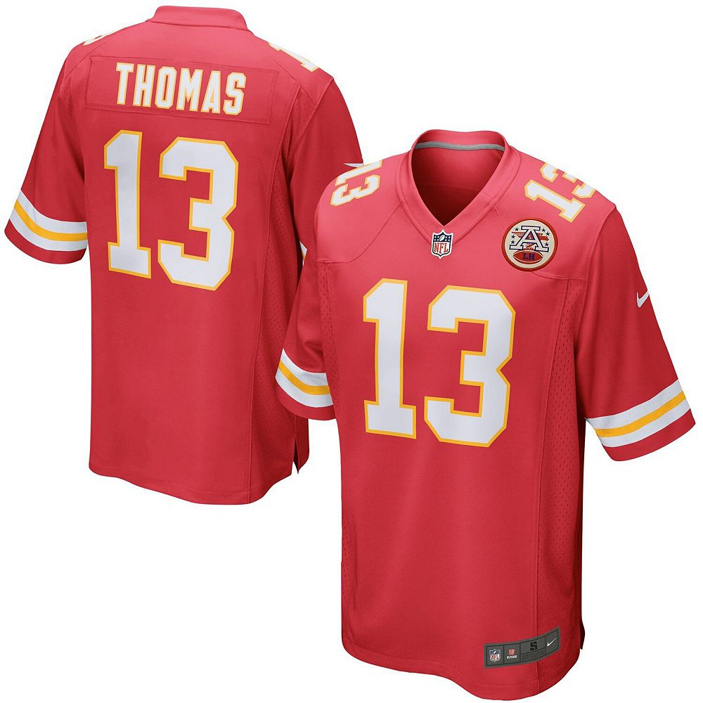 Mens Kansas City Chiefs DeAnthony Thomas Nike Game Jersey