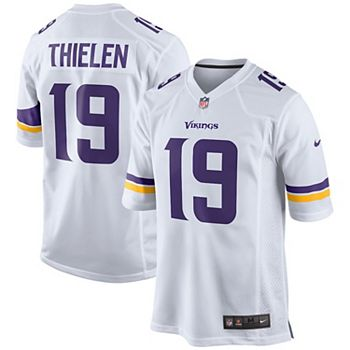 finest selection 0485c 204f0 Men's Nike Adam Thielen White Minnesota Vikings Game Jersey