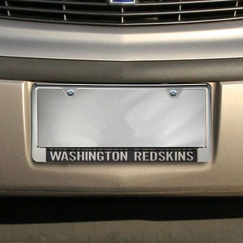 Washington Redskins Glitter License Plate Frame