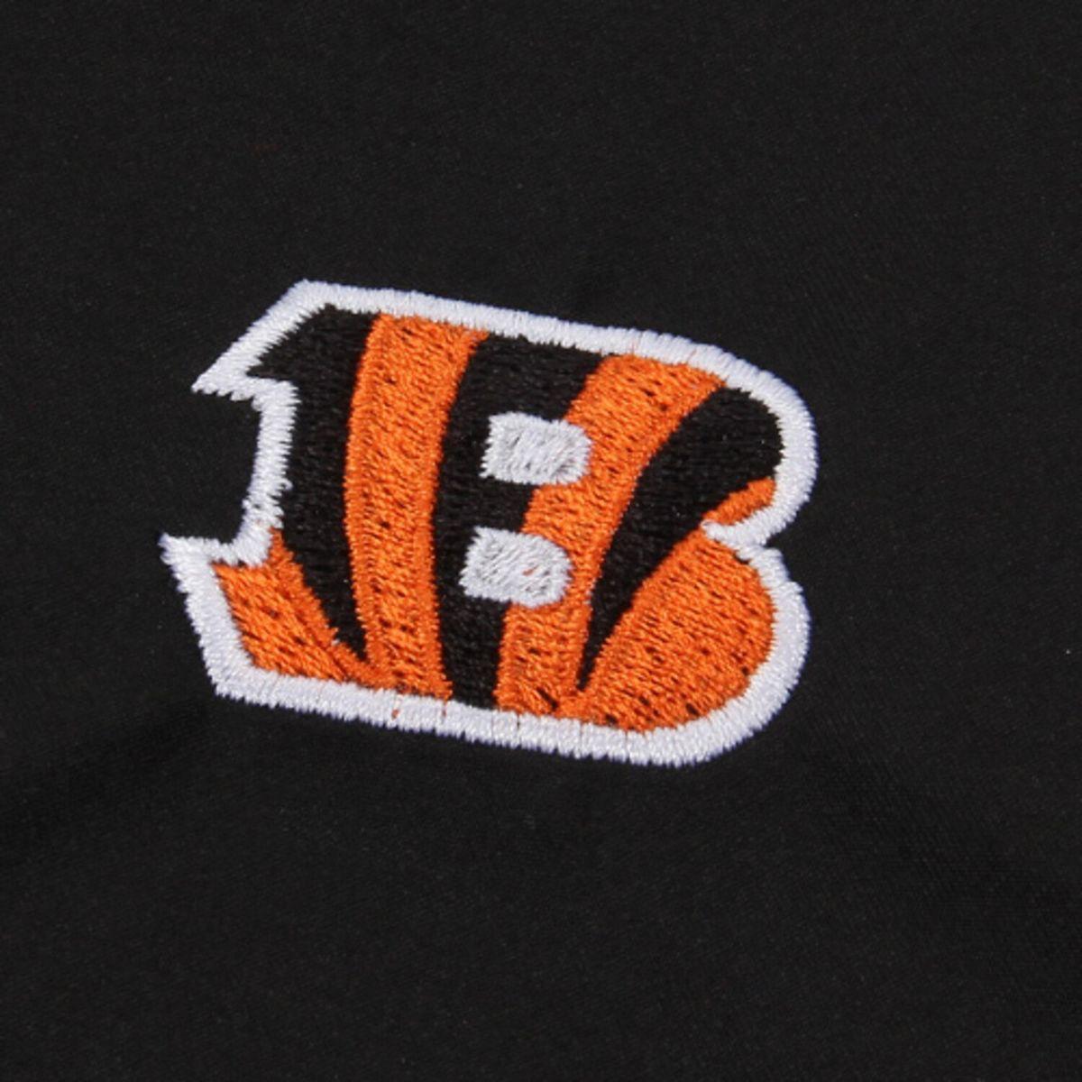 Men's Cutter & Buck Black Cincinnati Bengals WeatherTec Beacon Full-Zip Jacket bDXlO