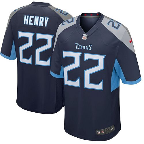 Youth Nike Derrick Henry Navy Tennessee Titans New 2018 Game Jersey