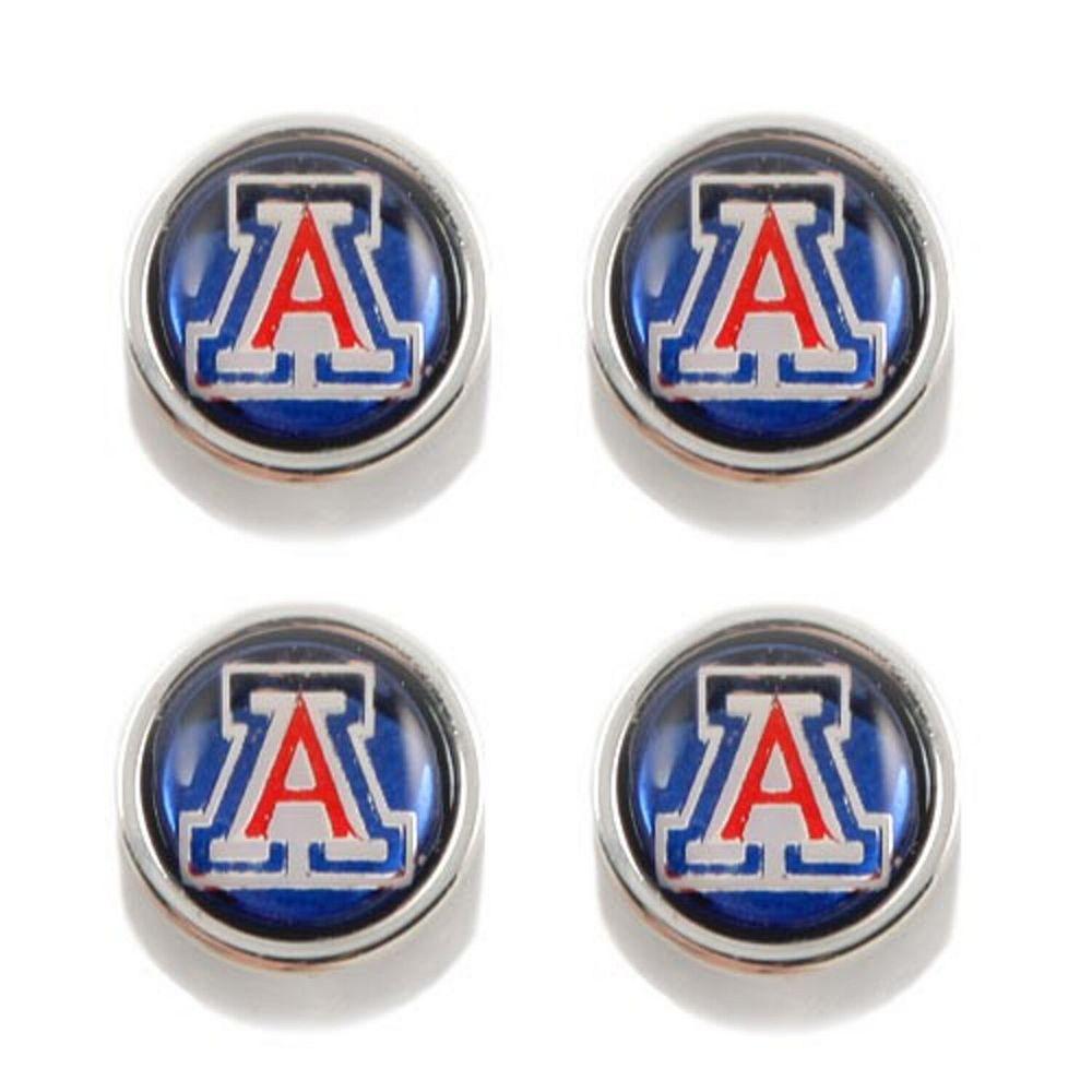 Arizona Wildcats Tire Valve Stem Covers