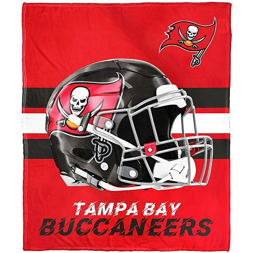 """The Northwest Company Tampa Bay Buccaneers 50"""" x 60"""" Protector Silk Touch Throw"""