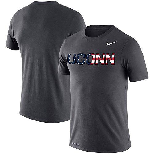 Men's Nike Anthracite UConn Huskies Americana Legend Performance T-Shirt