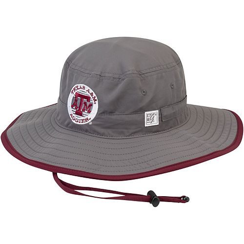 Men's The Game Gray Texas A&M Aggies Classic Circle Ultralight Adjustable Boonie Bucket Hat