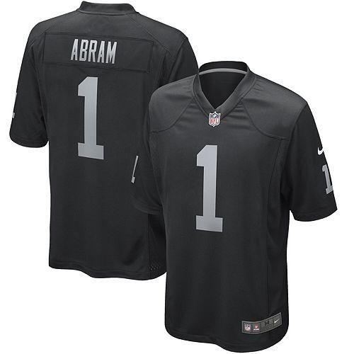Johnathan Abram Oakland Raiders Nike Game Jersey - Black