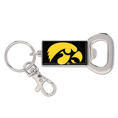 WinCraft Iowa Hawkeyes Bottle Opener Key Ring