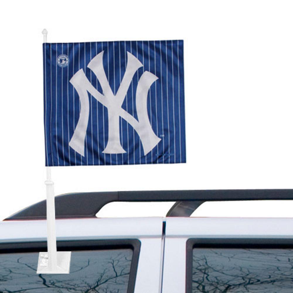 New York Yankees Double-Sided Car Flag