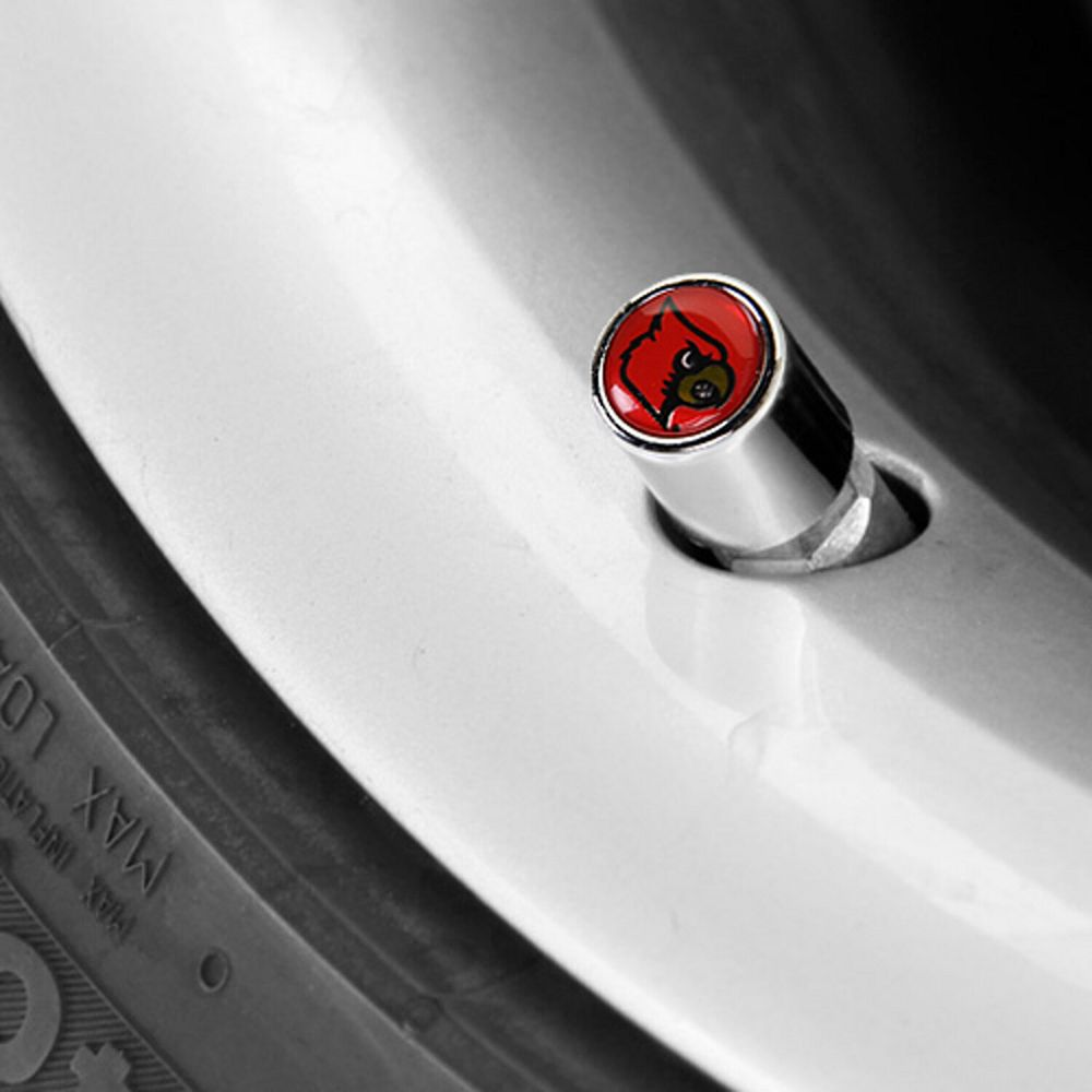 Louisville Cardinals Valve Stem Covers