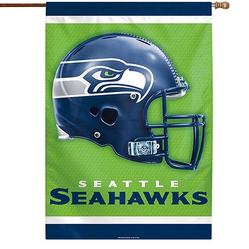 """WinCraft Seattle Seahawks 28"""" x 40"""" Double-Sided Vertical Banner"""