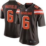 Youth Nike Baker Mayfield Brown Cleveland Browns Game Jersey