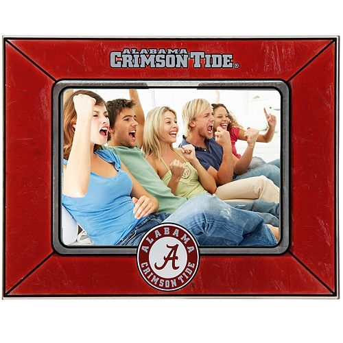Alabama Crimson Tide Horizontal Art Glass Frame