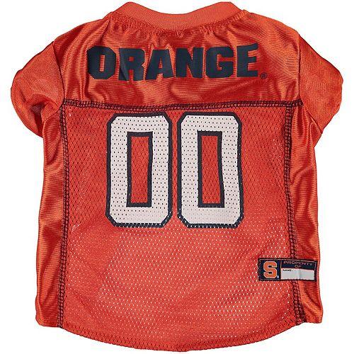 Syracuse Orange Mesh Dog Football Jersey
