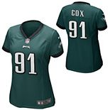 Women's Philadelphia Eagles Fletcher Cox Nike Midnight Green Game Jersey