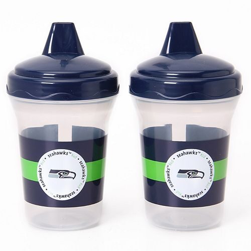 Seattle Seahawks 2-Pack 5oz. Sippy Cups - College Navy