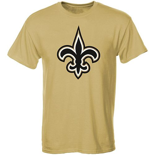 New Orleans Saints Youth Primary Logo T-Shirt - Gold