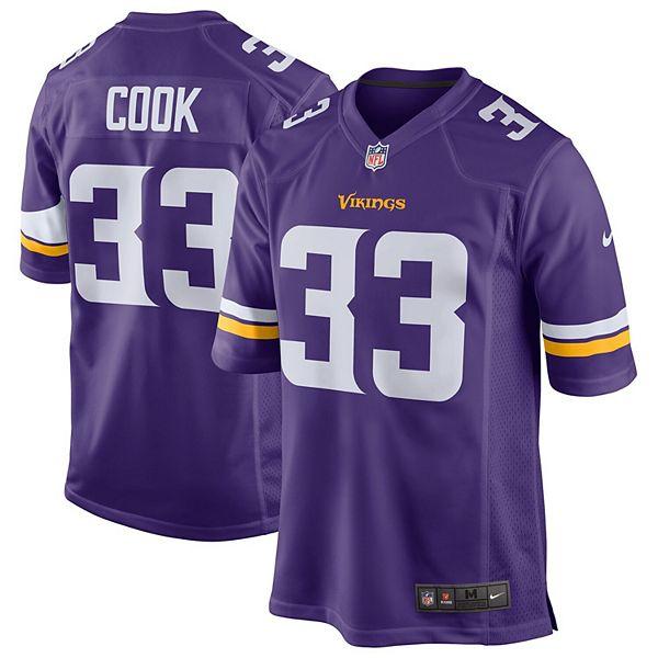 Youth Nike Dalvin Cook Purple Minnesota Vikings Game Jersey