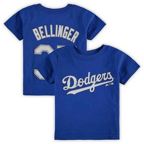 Infant Majestic Cody Bellinger Royal Los Angeles Dodgers Player Name & Number T-Shirt