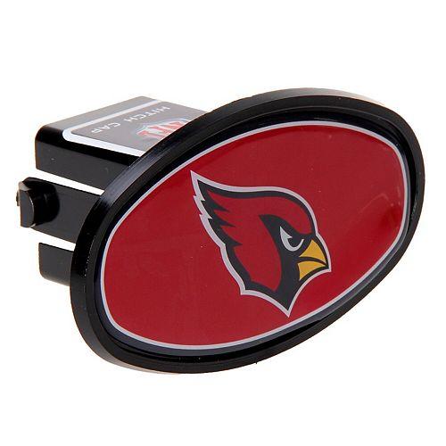 "Arizona Cardinals Logo Oval Fixed 2"" Hitch Cover"