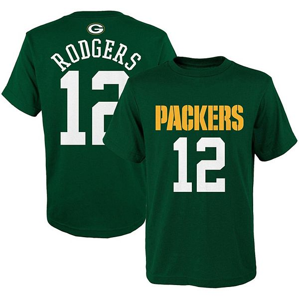 aaron rodgers youth football jersey