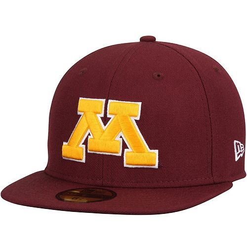 Men's New Era Maroon Minnesota Golden Gophers Basic 59FIFTY Fitted Hat