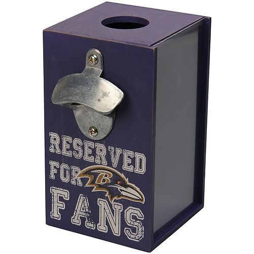 Baltimore Ravens Cap Caddy With Bottle Opener