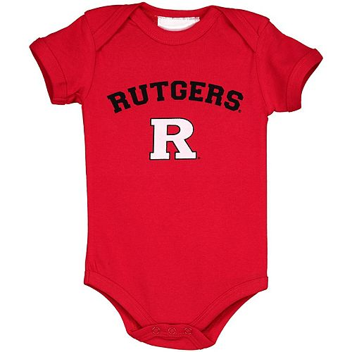 Infant Scarlet Rutgers Scarlet Knights Arch & Logo Bodysuit
