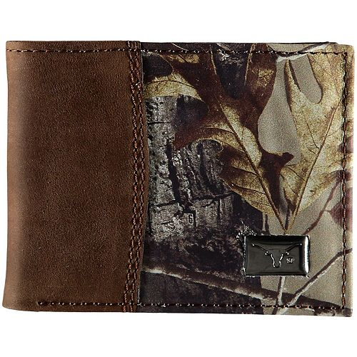Men's Texas Longhorns Bi-Fold Camo Wallet