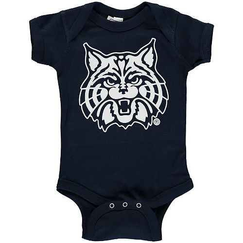 Infant Navy Arizona Wildcats Big Logo Bodysuit