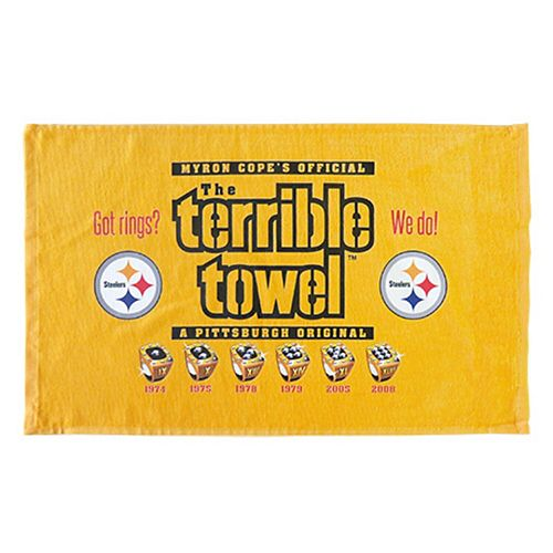Pittsburgh Steelers Rings Terrible Towel