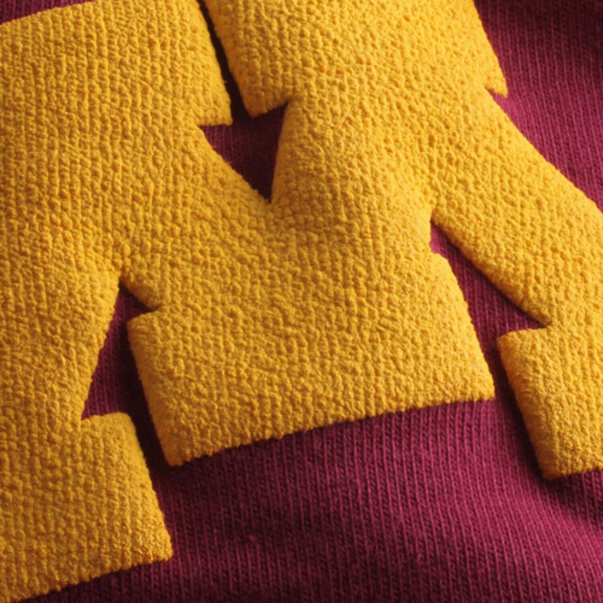 Women's Maroon Minnesota Golden Gophers Spirit Jersey Oversized T-Shirt sP3nb
