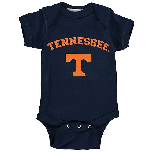 Infant Navy Tennessee Volunteers Arch & Logo Bodysuit