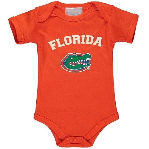 Infant Orange Florida Gators Arch Logo Bodysuit