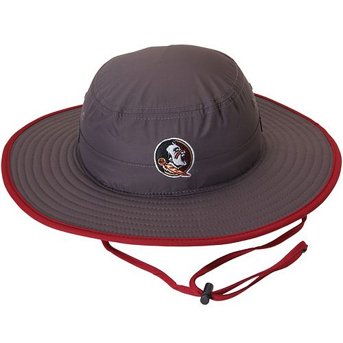 Men's Top of the World Charcoal Florida State Seminoles Chili Dip Boonie Bucket Hat