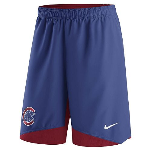 Men's Nike Royal Chicago Cubs Authentic Collection Dry Woven Performance Shorts