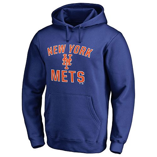 Men's Fanatics Branded Royal New York Mets Victory Arch Pullover Hoodie