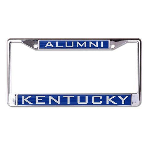 WinCraft Kentucky Wildcats Alumni Inlaid Metal License Plate Frame